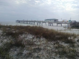 Fishing pier, adjacent to Gulfarium, in Ft Walton Beach