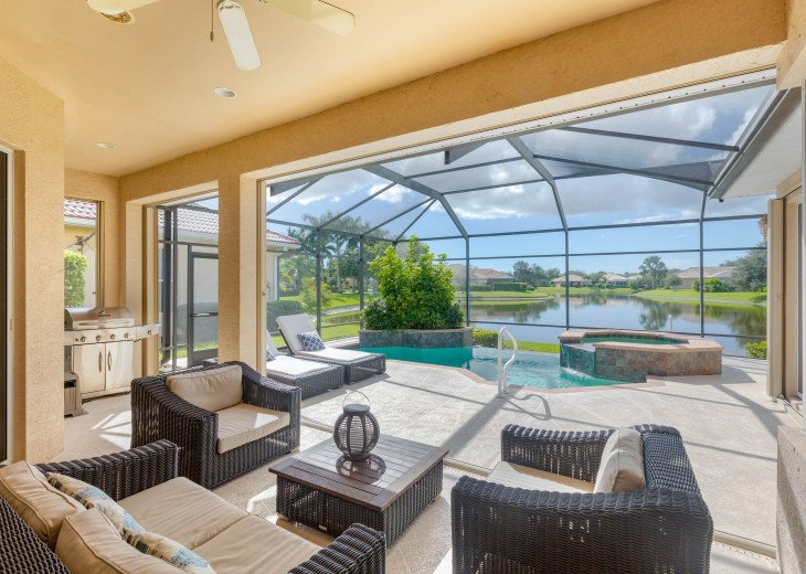 Home with private pool & spa in 5-star Lely Resort Golf Community. #3