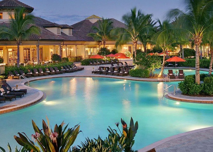 Home with private pool & spa in 5-star Lely Resort Golf Community. #2