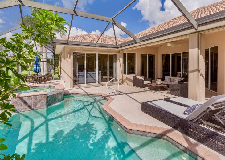 Home with private pool & spa in 5-star Lely Resort Golf Community. #26