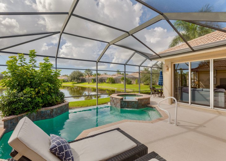 Home with private pool & spa in 5-star Lely Resort Golf Community. #28