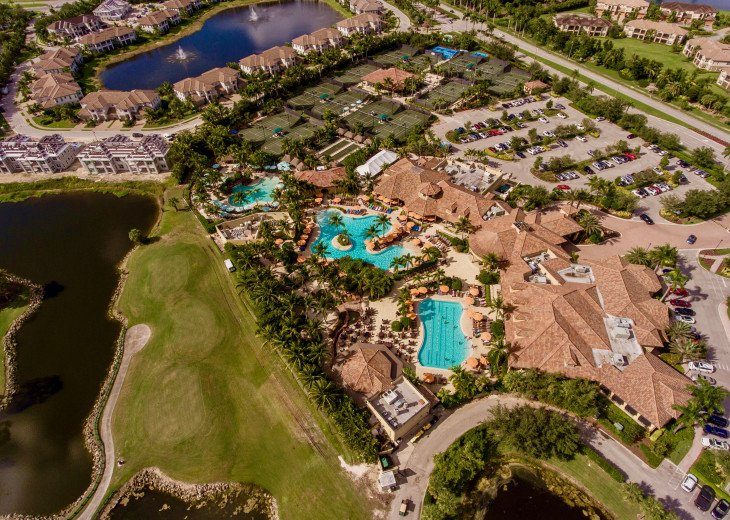 Home with private pool & spa in 5-star Lely Resort Golf Community. #34