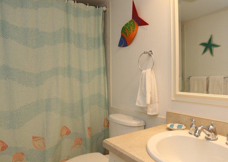 Unit 105 Bathroom