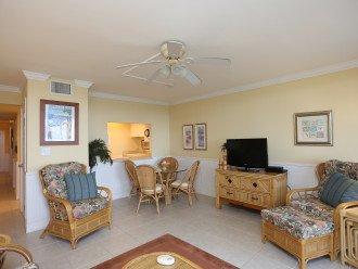 Unit 105 Living Room