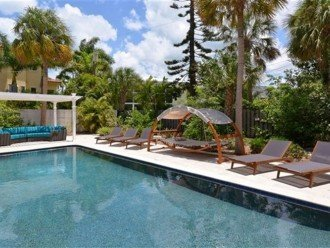 Sophisticated updated modern pool home on St. Armands #1