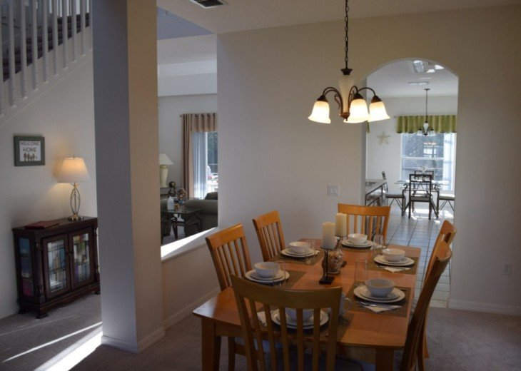 Stunning 5 Bed 3 Bath villa with own pool. Close to Disney/shops/restaurants #7