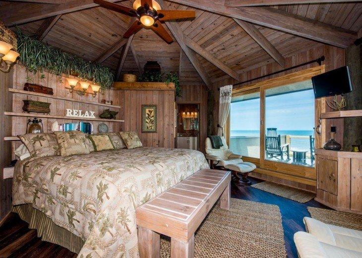 Unique Beachfront Retreat #4