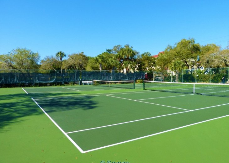 Have a match on our tennis courts