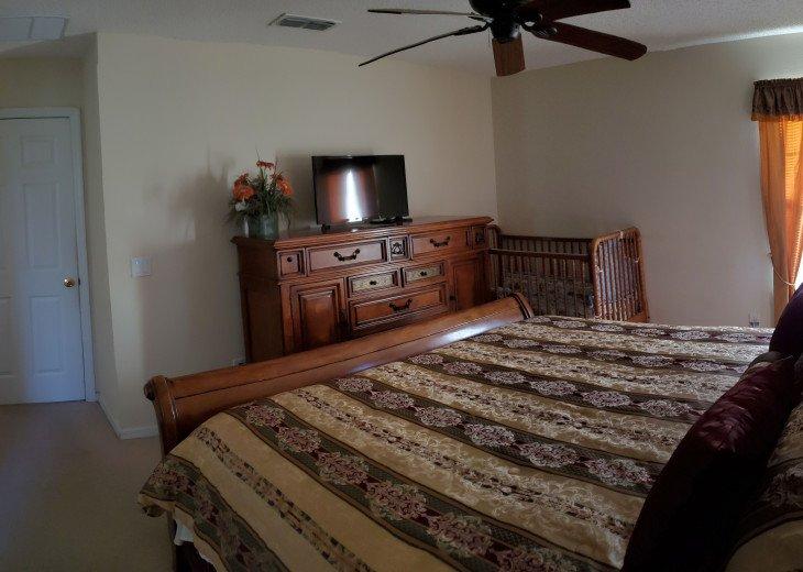 Bedroom #2 on 2nd Floor with Crib