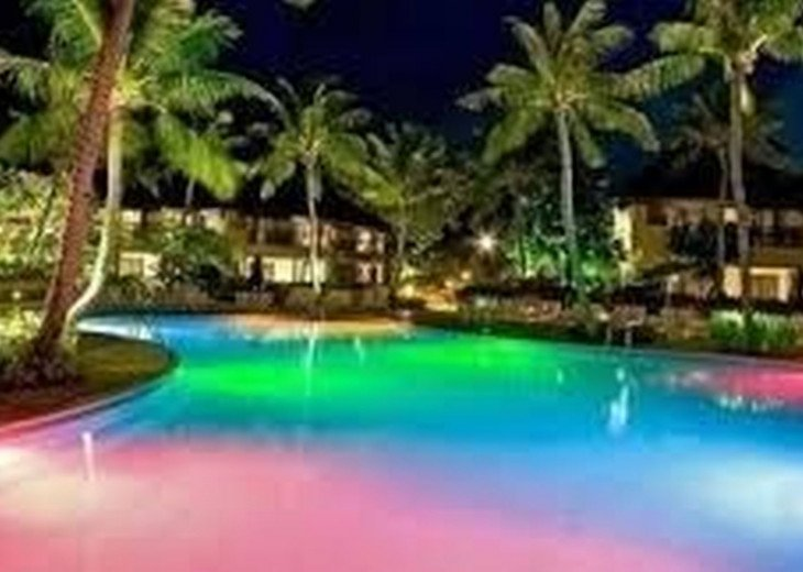 Our Pool and Spa lights change from blue to red to green to purple