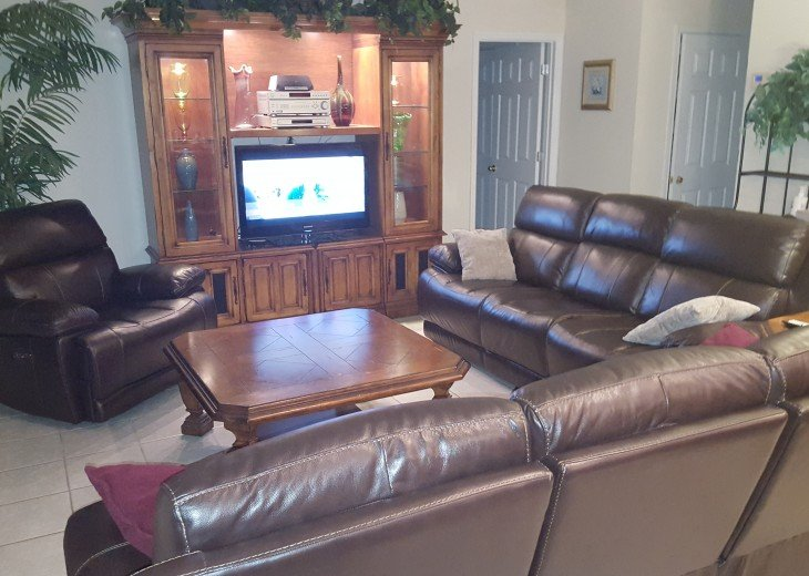 Family Room TV and Furniture