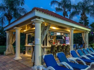 Tiki Bar at the Clubhouse Pool