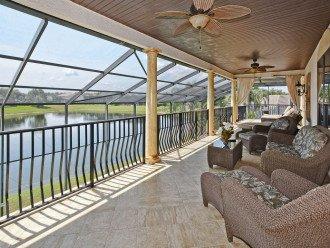 Gorgeous upper balcony