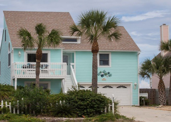 Almost Heaven Vilano Luxury BeachHOUSE- NO HURRICANE IRMA DAMAGE! On beach HOUSE #2