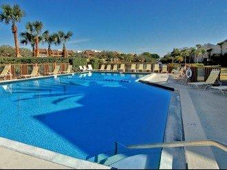Bay side heated pool