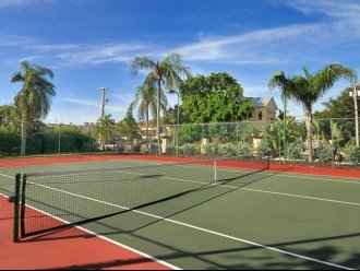 One of two courts on-site. We keep racquets in the condo for your use!!
