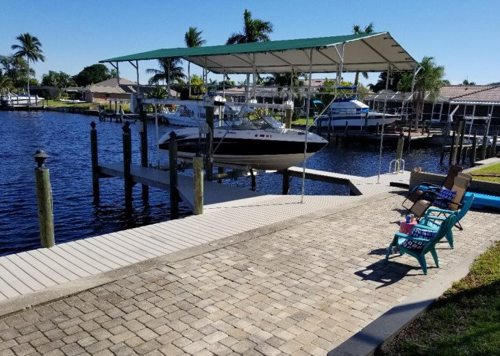 Sun Patio and Boat Dock