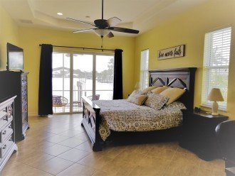 Master Bedroom - King with TV and Private Patio