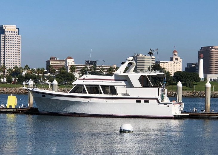 48 FOOT MOTOR YACHT FOR SUNSET& DOLPHIN CRUISES . ASK FOR YACHT FLYER.