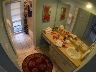 BATHROOM # 2 TUB & SHOWER + VANITIES