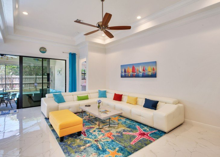 Sleek and Modern Pool & Spa Private Naples Park Home #5