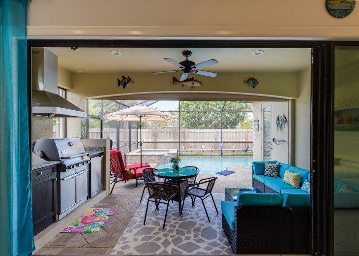 Sleek and Modern Pool & Spa Private Naples Park Home #11