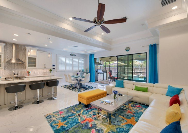 Sleek and Modern Pool & Spa Private Naples Park Home #4