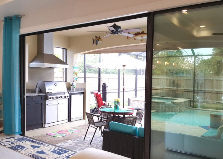 Sleek and Modern Pool & Spa Private Naples Park Home #10