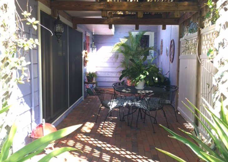 Welcome to Garden Terrace - your private patio
