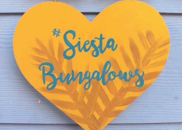 Find us on Instagram #siestabungalows