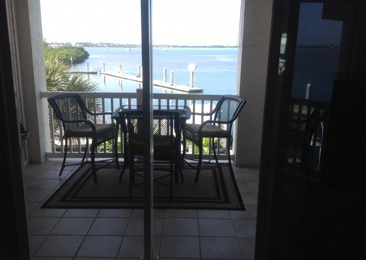 Balcony with Patio Table