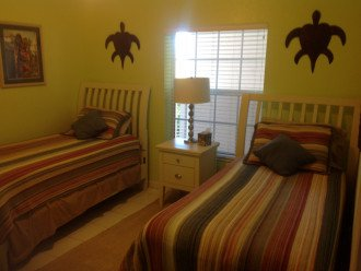 Guest Bedroom, two single beds