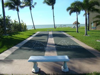 Shuffleboard with a view!