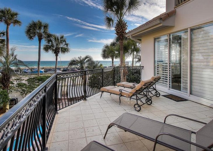 NEXT best thing to Gulf front - unobstructed Gulf views! Golfcart at discount! #12