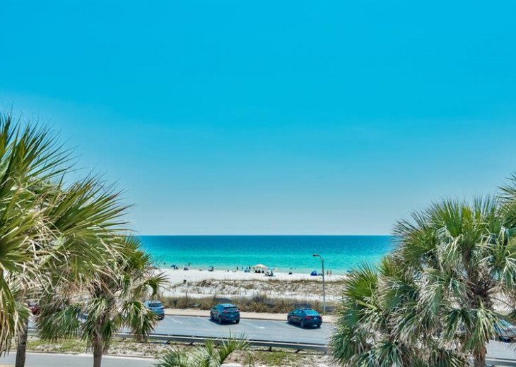 NEXT best thing to Gulf front - unobstructed Gulf views! Golfcart at discount! #3