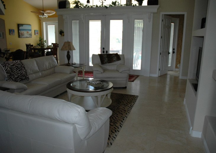 Spacious Home on Major Canal, Gulf Access, No Locks or Bridges #6