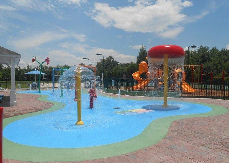Children's Splash Park.