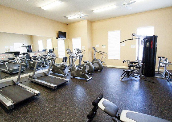 The Gym in the Clubhouse.
