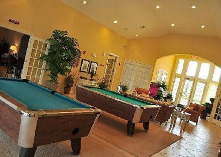 Pool Tables in the Clubhouse.