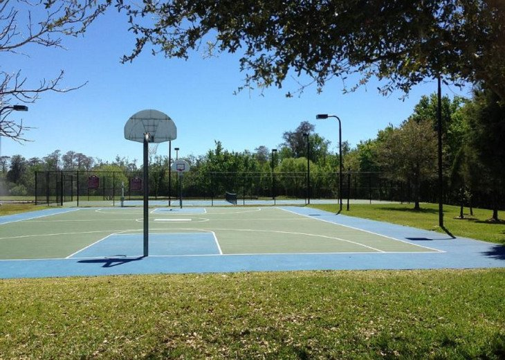 Basketball Courts.