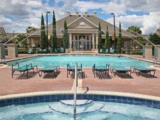 Pool and Jacuzzi and Clubhouse.