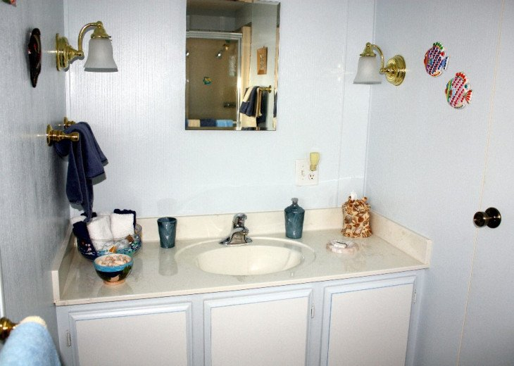 Private Master bathroom with shower