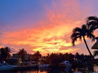 Amazing sunsets await you at the end of your day in The Florida Keys!