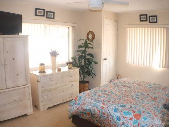 Spacious and bright Master Bedroom with Queen sized bed and plenty of storage