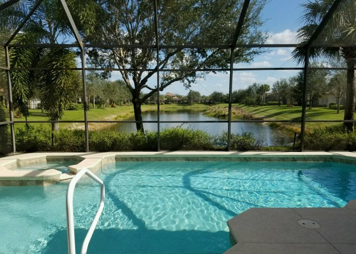Private Pool and Spa at our Doverstone Home!