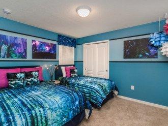 Avatar Themed Bedroom