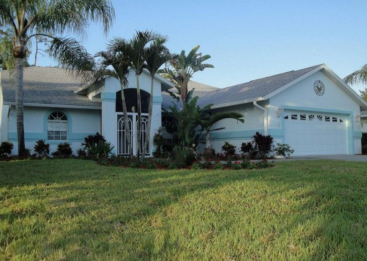 TWO MASTER SUITES Heated Pool+Spa BEACH Home Private Comm IN NAPLES, Walk to #23