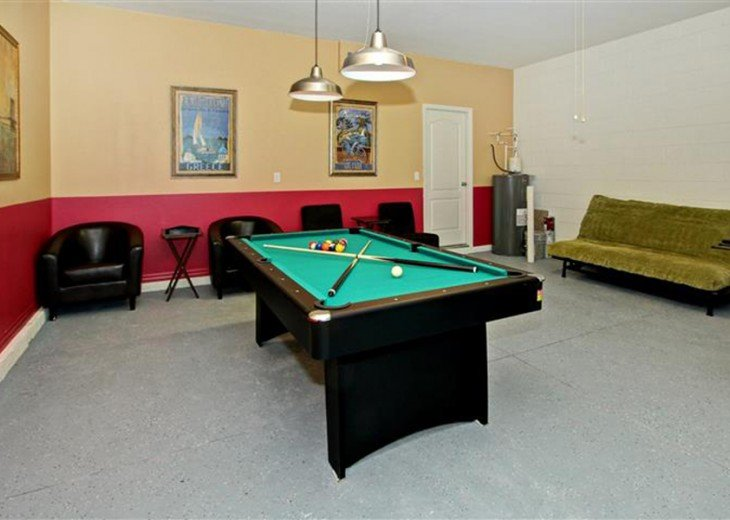 game room with pool table(table tennis) and Soccer - Foosball Tables