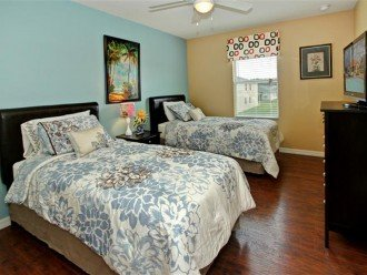 2nd floor twin bedroom 1,Twin beds can be easily combined into a king size bed i