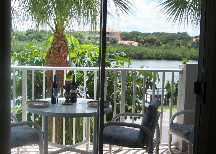 Relax and enjoy the views of the Intercoastal Waterway on your private balcony